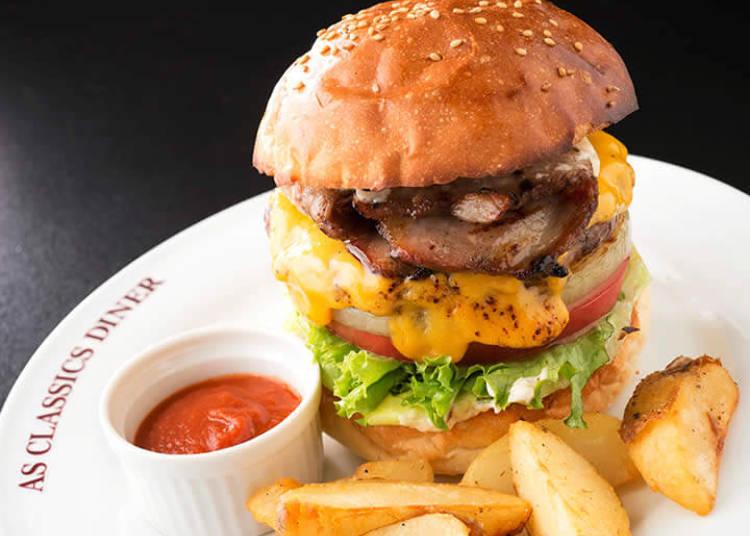 AS Classics Diner - A Classic American Burger