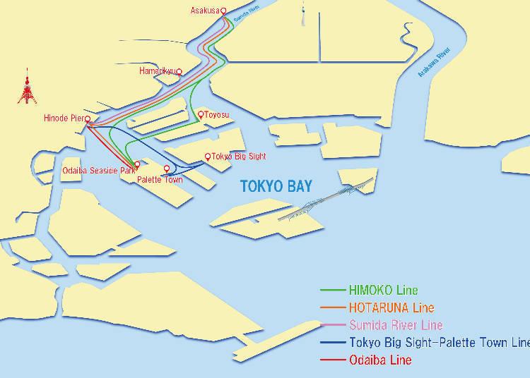 Sumida River Cruise: Explore Tokyo Bay by Boat! - LIVE JAPAN ...