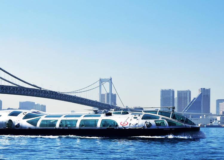 """最经典的水上巴士""""TOKYO CRUISE"""""""