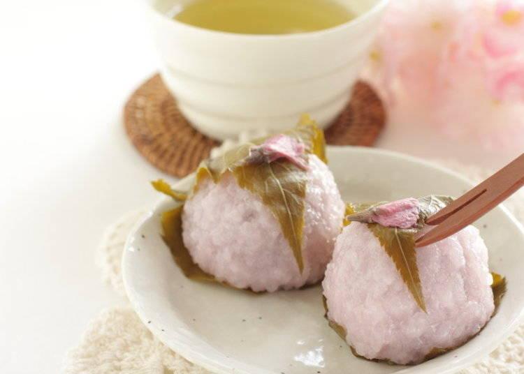 春の和菓子は迎春の慶び -桜餅―