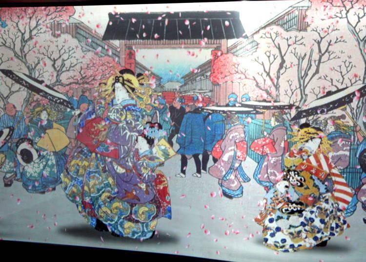 Meeting the Ukiyo-e Geisha and Getting Close to Cracking the Edo Code