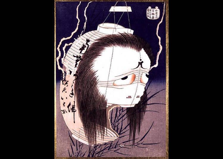 歌舞伎怪談と提灯お化けのお岩さん