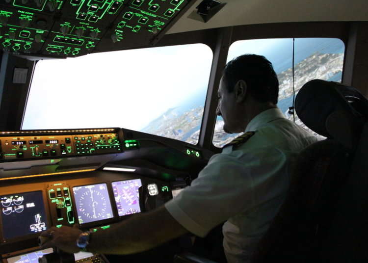 [MOVIE]Navigating Virtual Airspace with Skyart JAPAN