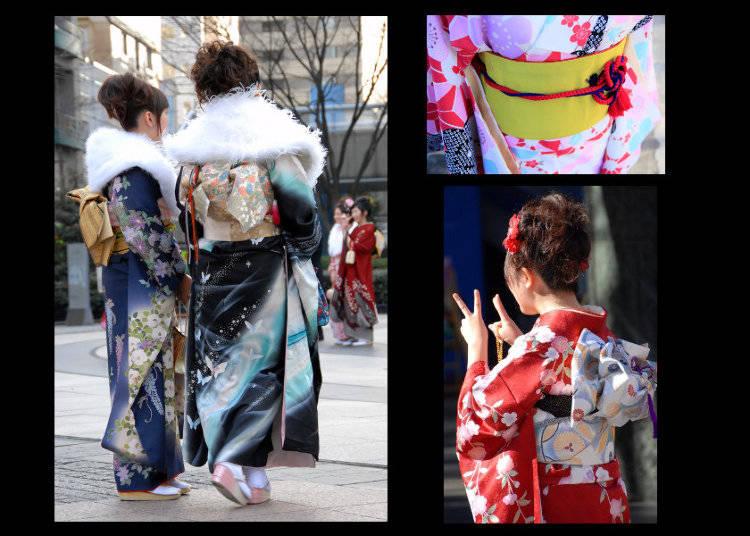 Types of Kimono