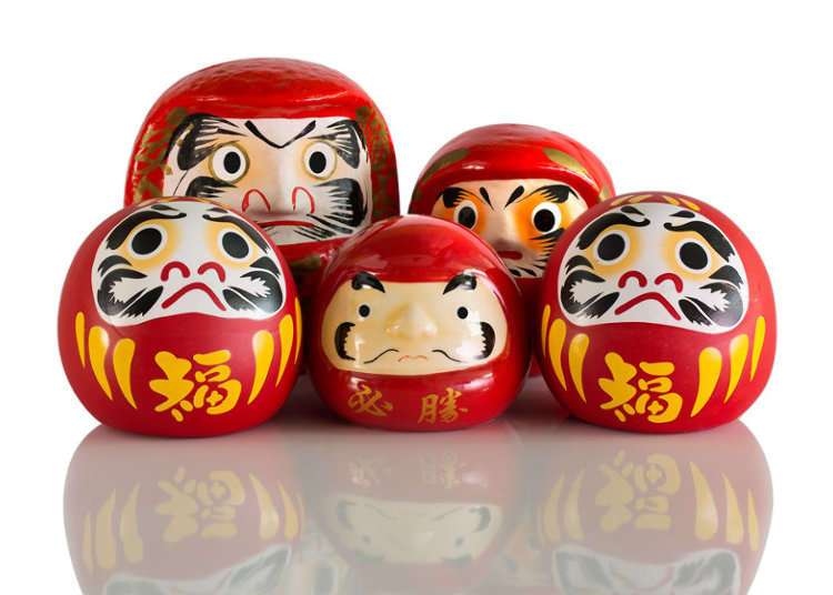 The Jindaiji Temple Daruma Fair (March 3-4)