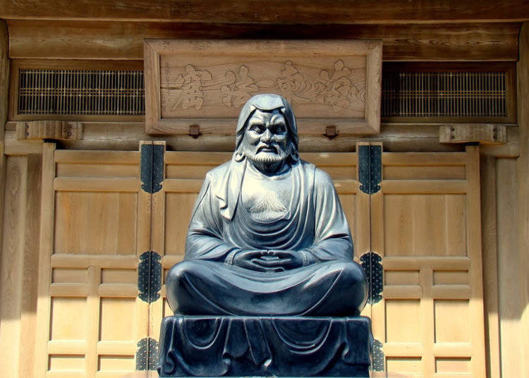 菩提達磨の伝説
