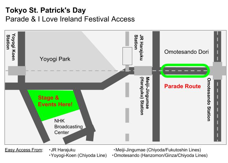 Tokyo St. Patrick's Parade 2019