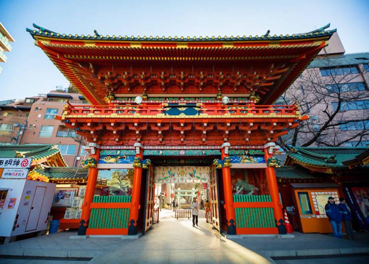 神田明神へのアクセス