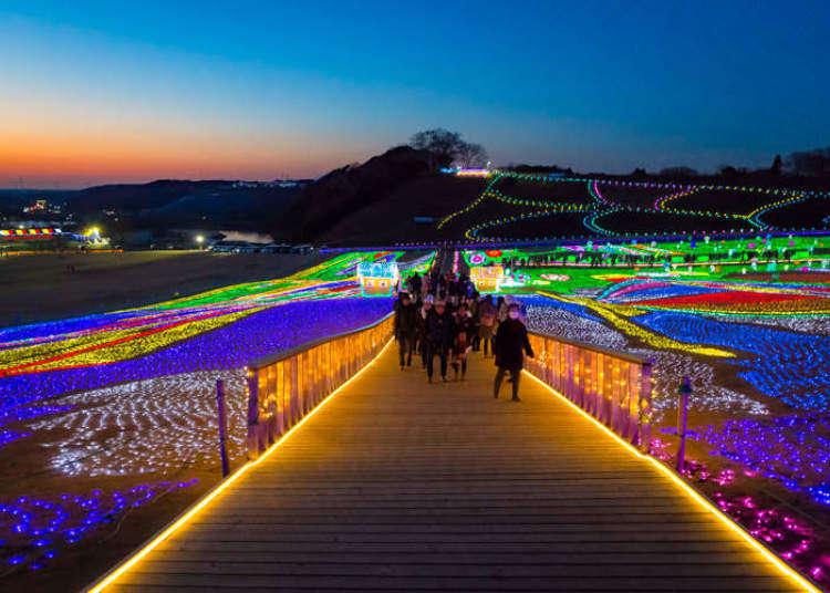 童話世界般的夢幻燈光秀,關東三大彩燈會之一「東京德國村」