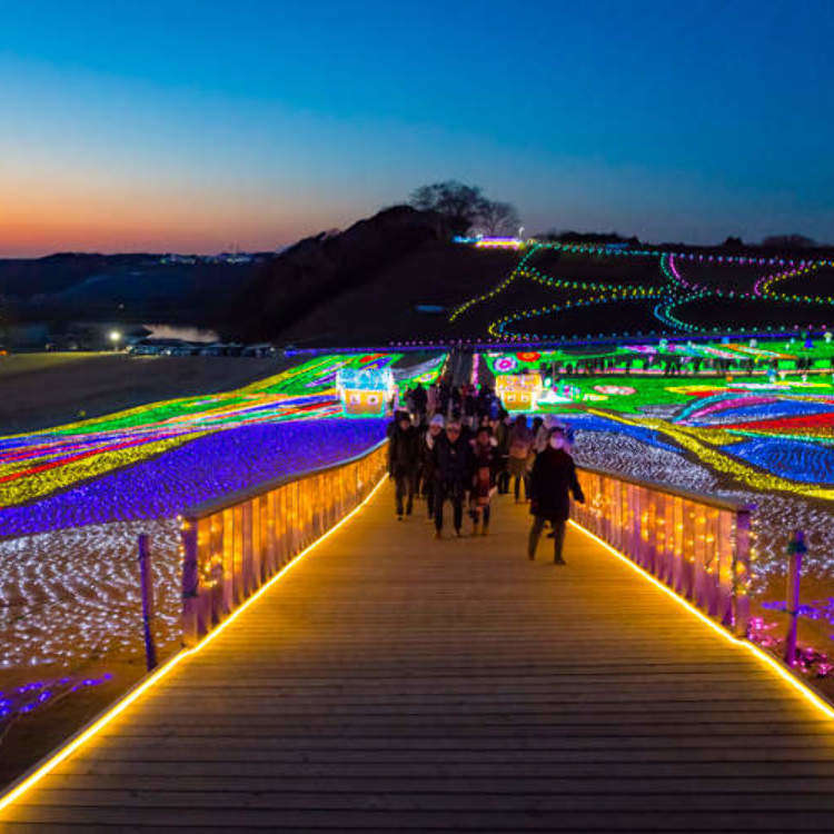 Country Farm Tokyo German Village – One of the Three Great Illuminations of Kanto