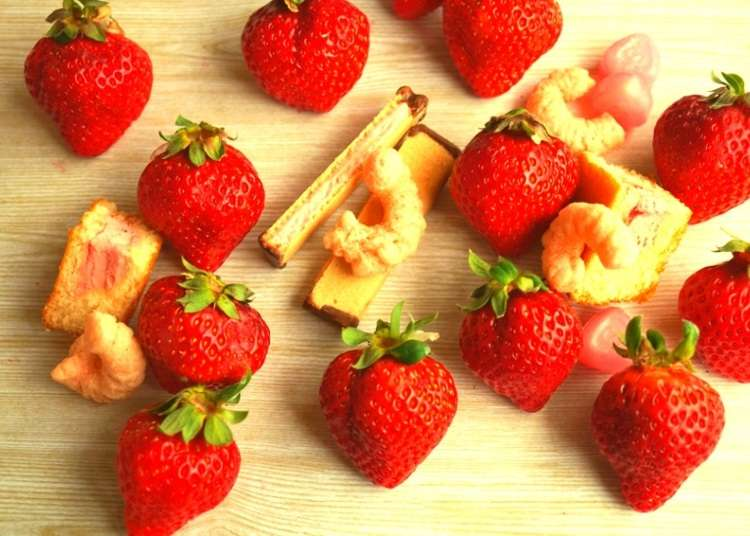 Japan's Amazing Strawberry Sweets of Spring – Sweet and Sour Delicacies