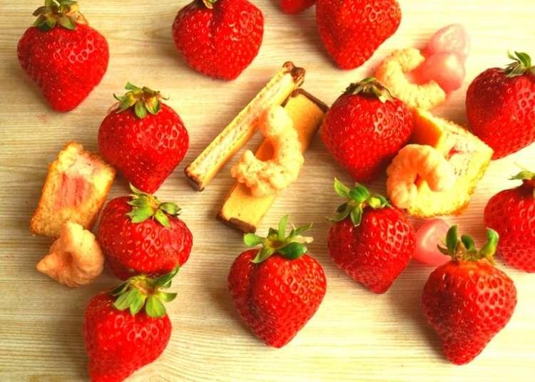 甘さとカワイさに胸キュン!イチゴのお菓子コレクション~アラカルト編~