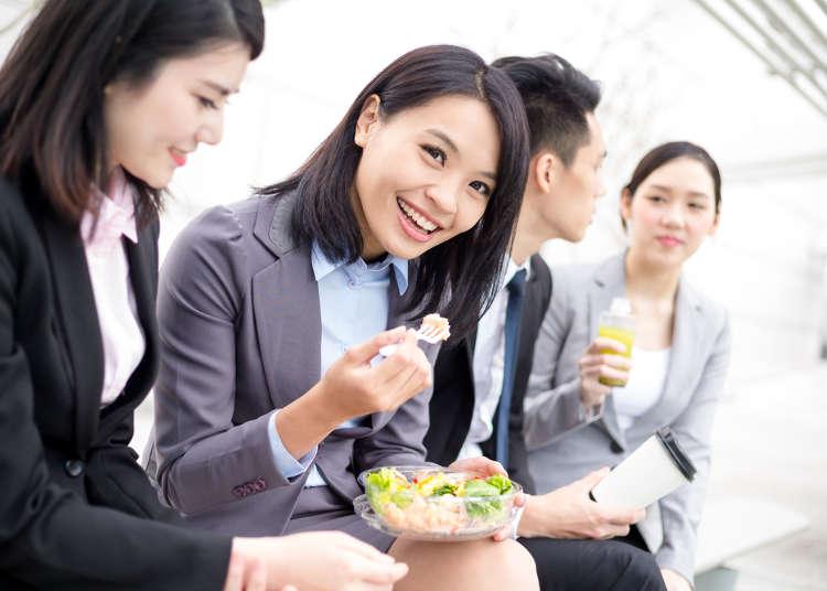 【真实的日本】日本OL的午餐情况,实际上大多数人都独自一人就餐。