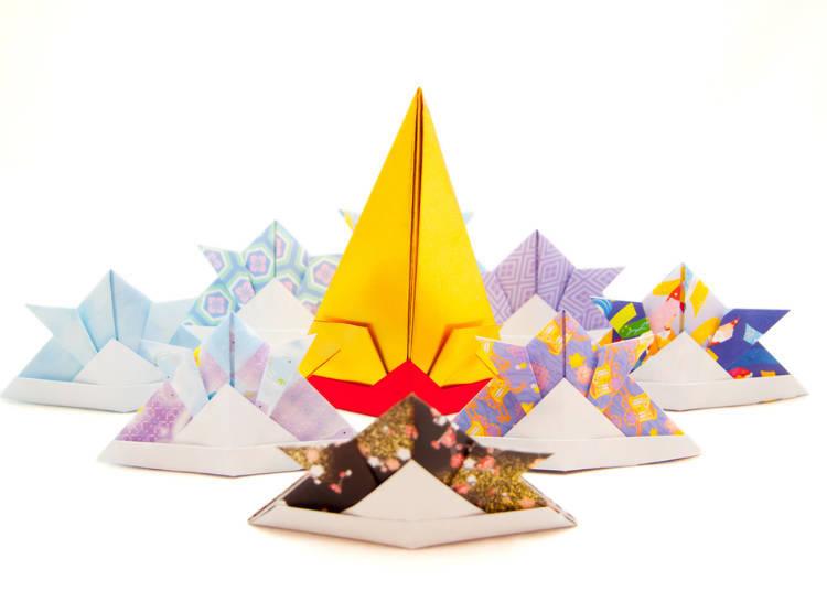 日本の子どもは折り紙が大好き