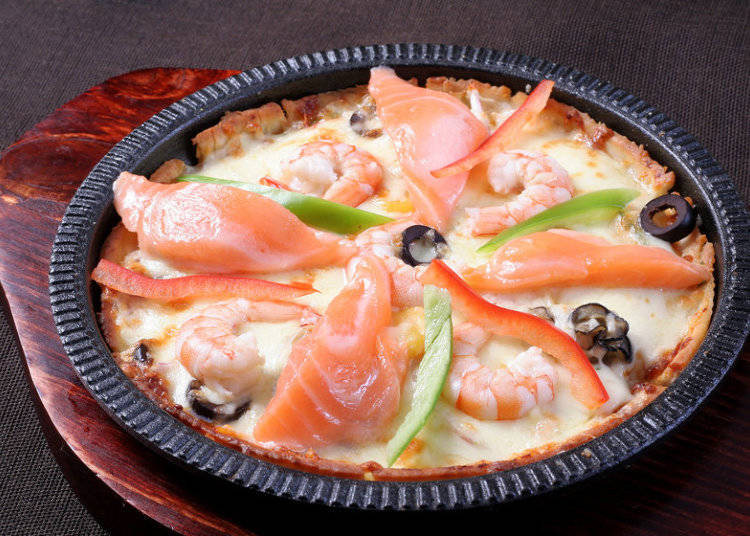 How did pizza come to Japan?