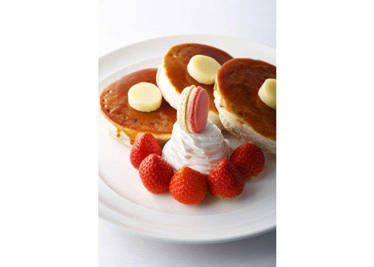 今天是松饼日哦!日式、西式、热带风情,您选哪种?