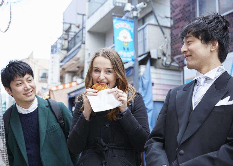 Tokyo Butler Story: Taking an Australian Tourist on a Gourmet Walk through Monzen-Nakacho (Video)