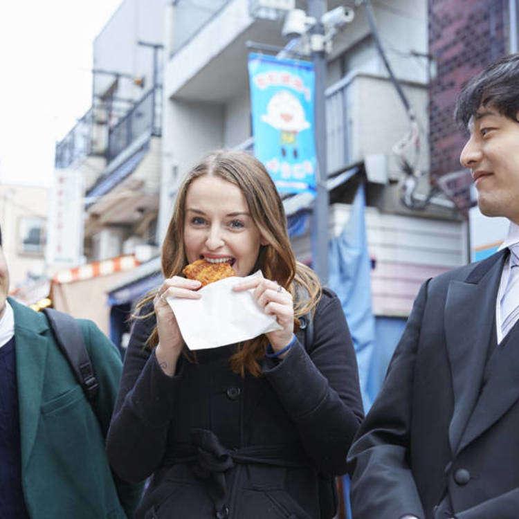 東京執事物語:外国人美女とB級グルメ巡り…お嬢さまだけにディープなスポットをご案内いたします