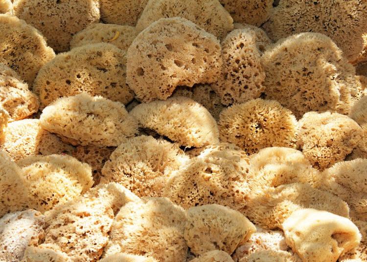 Menstrual Sponge: suponji tanpon (スポンジタンポン)