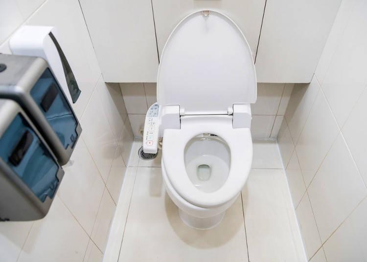Toilets and Washlets