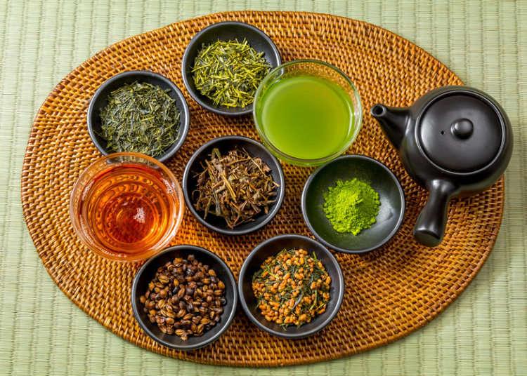 Tea Varieties in Japan