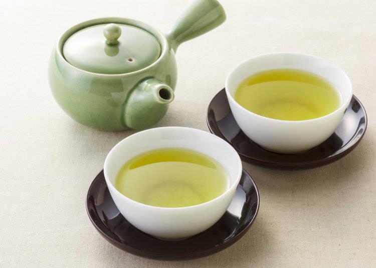 Green Tea: お茶 (ocha)・緑茶 (ryoku-cha)・日本茶 (nihon-cha)