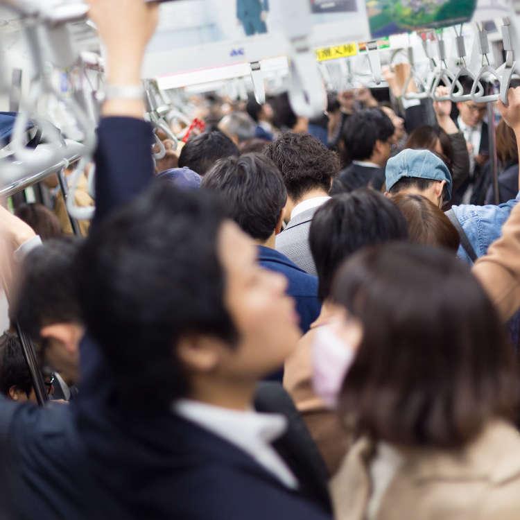 日本東京日常奇景「滿員電車」 真實重現!