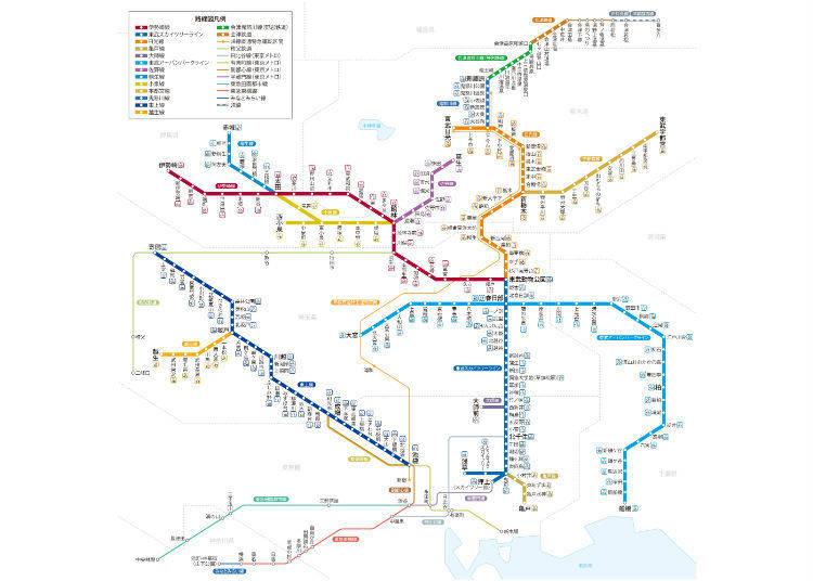 東武鉄道ー日光方面へアクセス