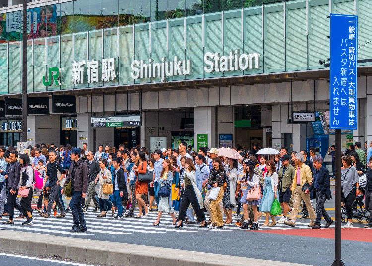破解新宿車站迷宮!一篇就搞懂,再也不迷路!