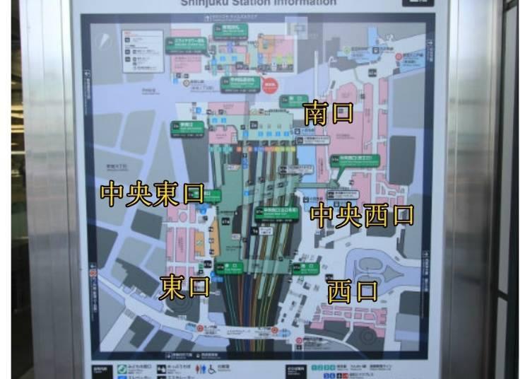 3)出口分東、南、西3方向