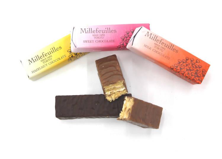 Berne mille-feuille 巧克力千层派