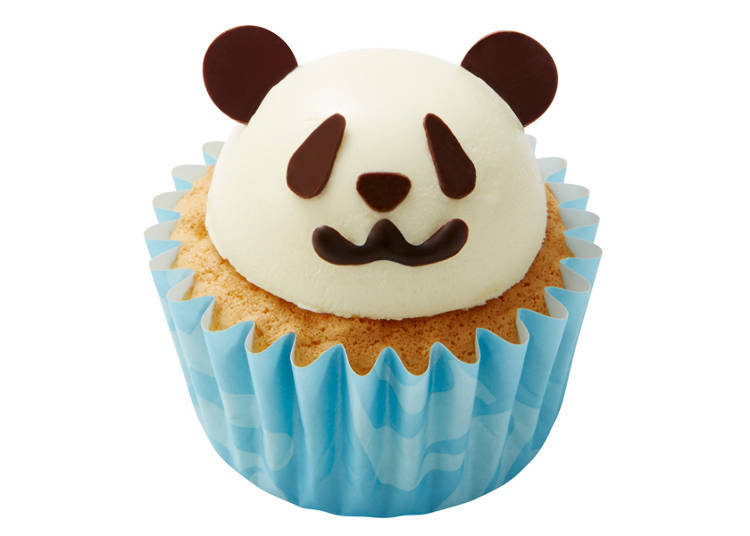 The Happy Panda Cupcakes of Morozoff