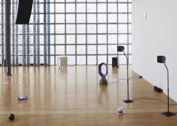 세련된 공간에서 맛보는 일본 국내외의 현대 아트