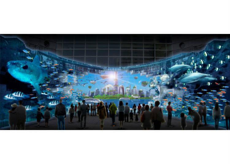 「船塢光雕投影秀」——沉浸於充滿震撼力的影像世界