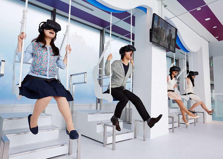 東京都內與近郊的最新「VR (虛擬實境) 體驗」設施總整理