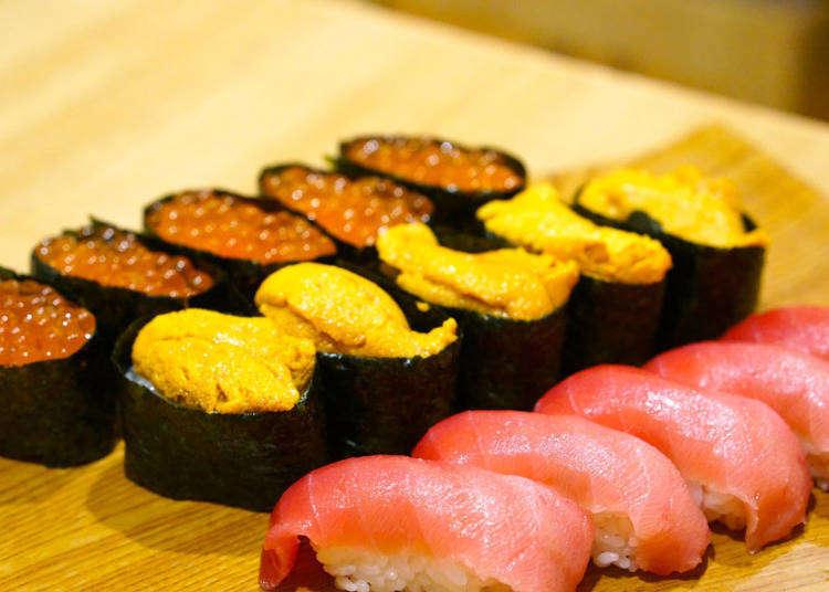 【銀座】高級寿司が4000円で食べ放題!人気の2店舗食べ比べ