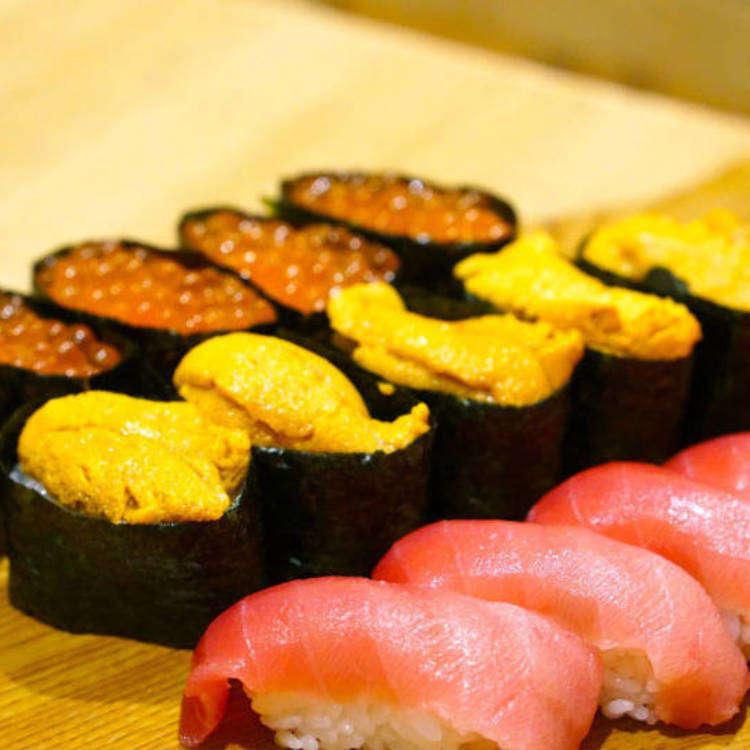 【银座】高级寿司自助餐仅4,000 JPY!品尝比较2家人气店铺