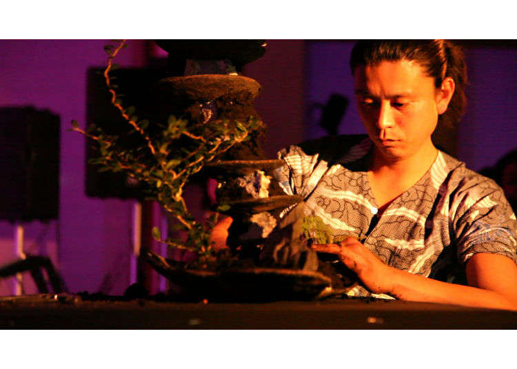 [MOVIE]新たな日本文化を世界に発信。平尾 成志氏の盆栽パフォーマンス