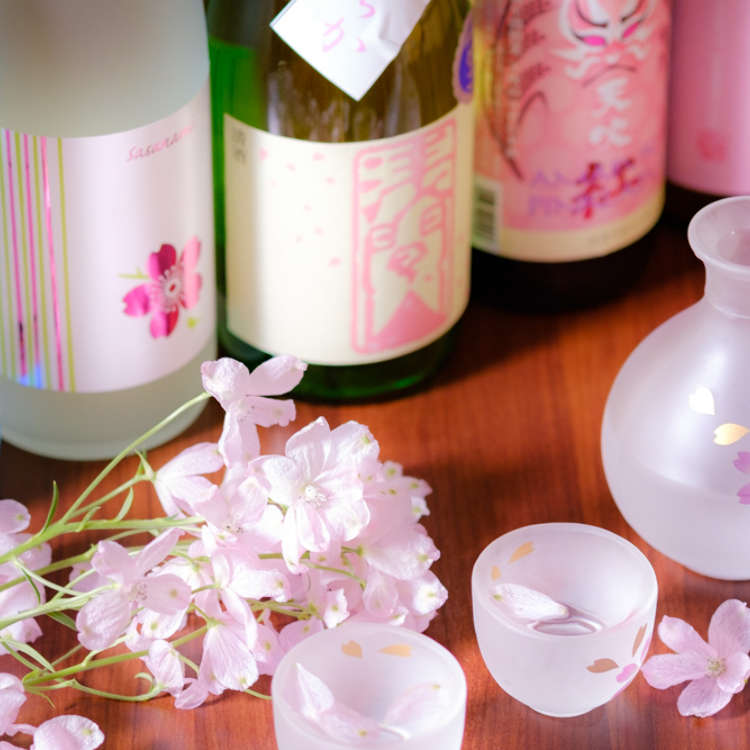 享受春天!櫻花色的「春季酒單」和「生馬肉」的協奏讓人食指大動