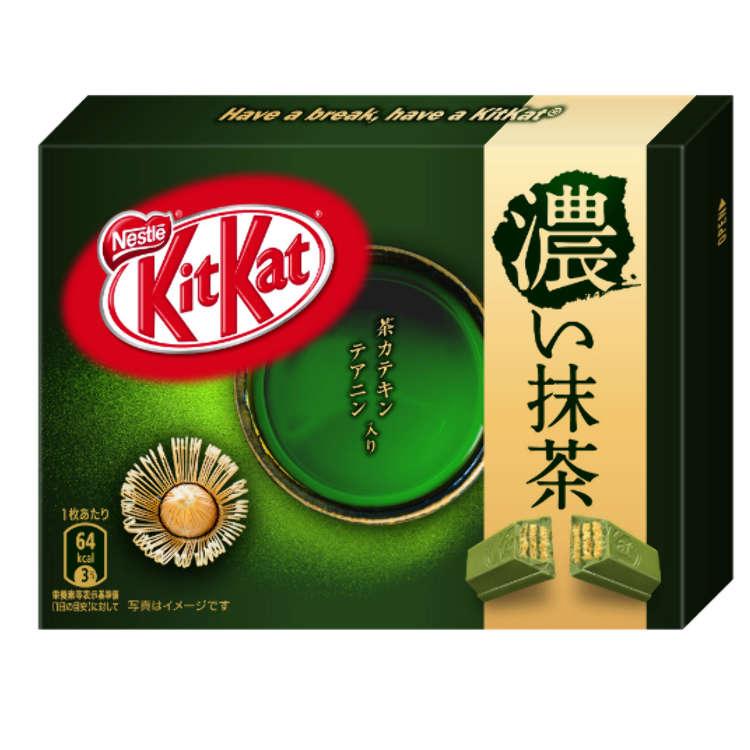 抹茶加倍!世界第一香濃的抹茶口味「超濃抹茶Kit-Kat」誕生了!