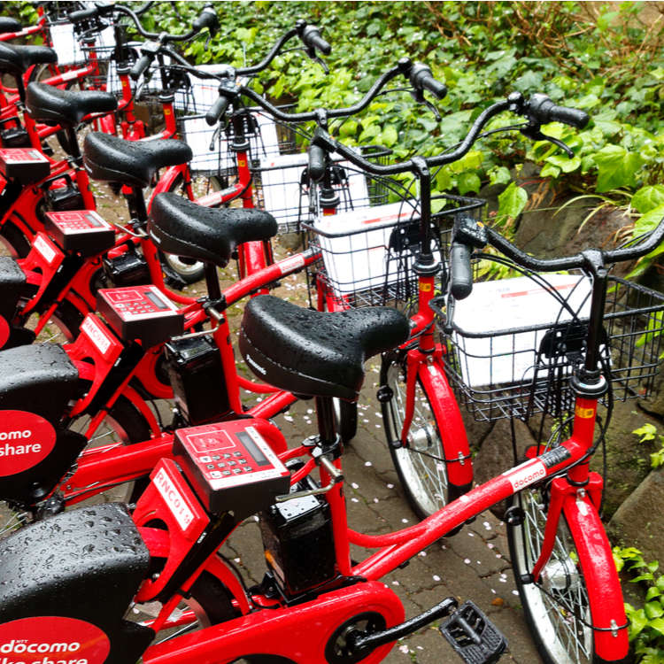 [MOVIE] Sightseeing While Cycling: Bike Share in Tokyo