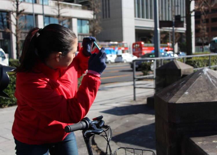 """""""マイペース""""な旅には自転車が最適"""