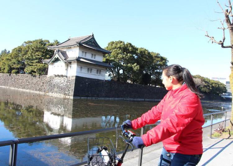 乘自行車漫遊東京站周邊