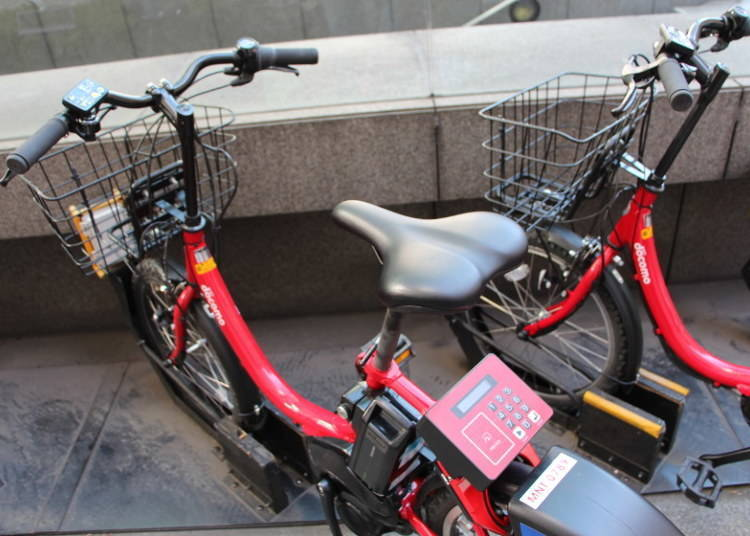 東京觀光果然是自行車最棒!