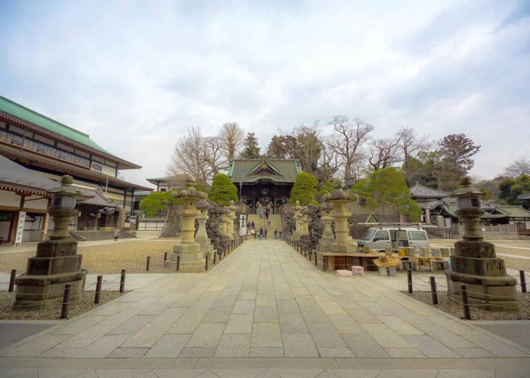到成田山新勝寺的交通非常簡單方便