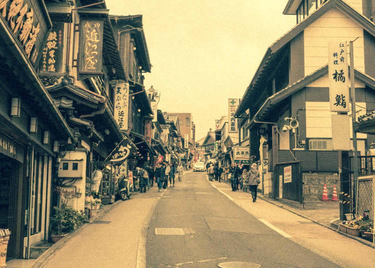 成田山表参道の歴史