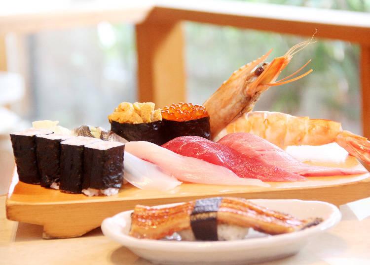 壽司哪有這麼大顆!新鮮、份量兩全齊美的「成田江戸子壽司 參道本店」