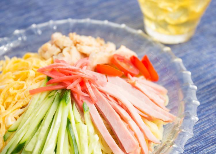 5:【麺料理編】日本の気候が生み出した夏を乗り切るアイデア料理が冷やし中華!?