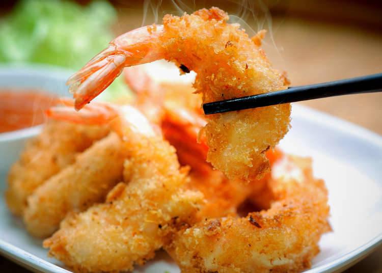 3:【魚料理編】イギリス料理のフィッシュフライをエビに変えて作ってみたエビフライ