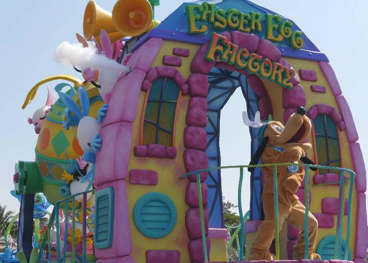 Usatama on the Run! – Disney's Easter Showdown